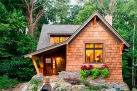 Окна в дачные домики и дома
