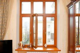 Окна в квартиры сталинки