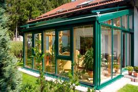 Окна в зимние сады и оранжереи