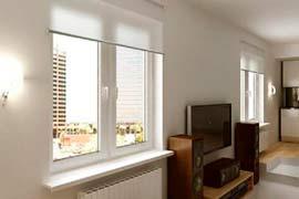 Окна в помещения квартиры