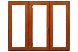 Трехстворчатые окна